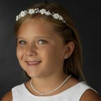 Bluebell Flower Bridal Headband - Elegant Bridal Hair ...