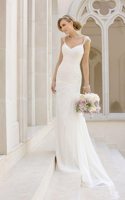 20 Elegant Simple Wedding Dresses of 2015  BridalTweet