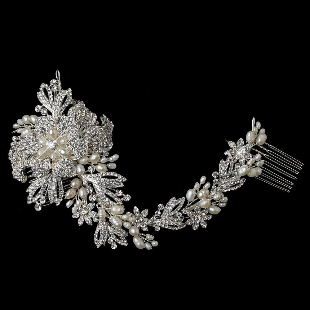 Gallica Bridal Vine Hair Comb Elegant Bridal Hair