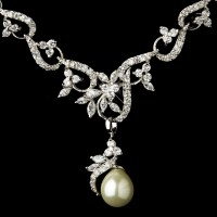 Lucette Ivory Pearl Bridal Jewelry Set