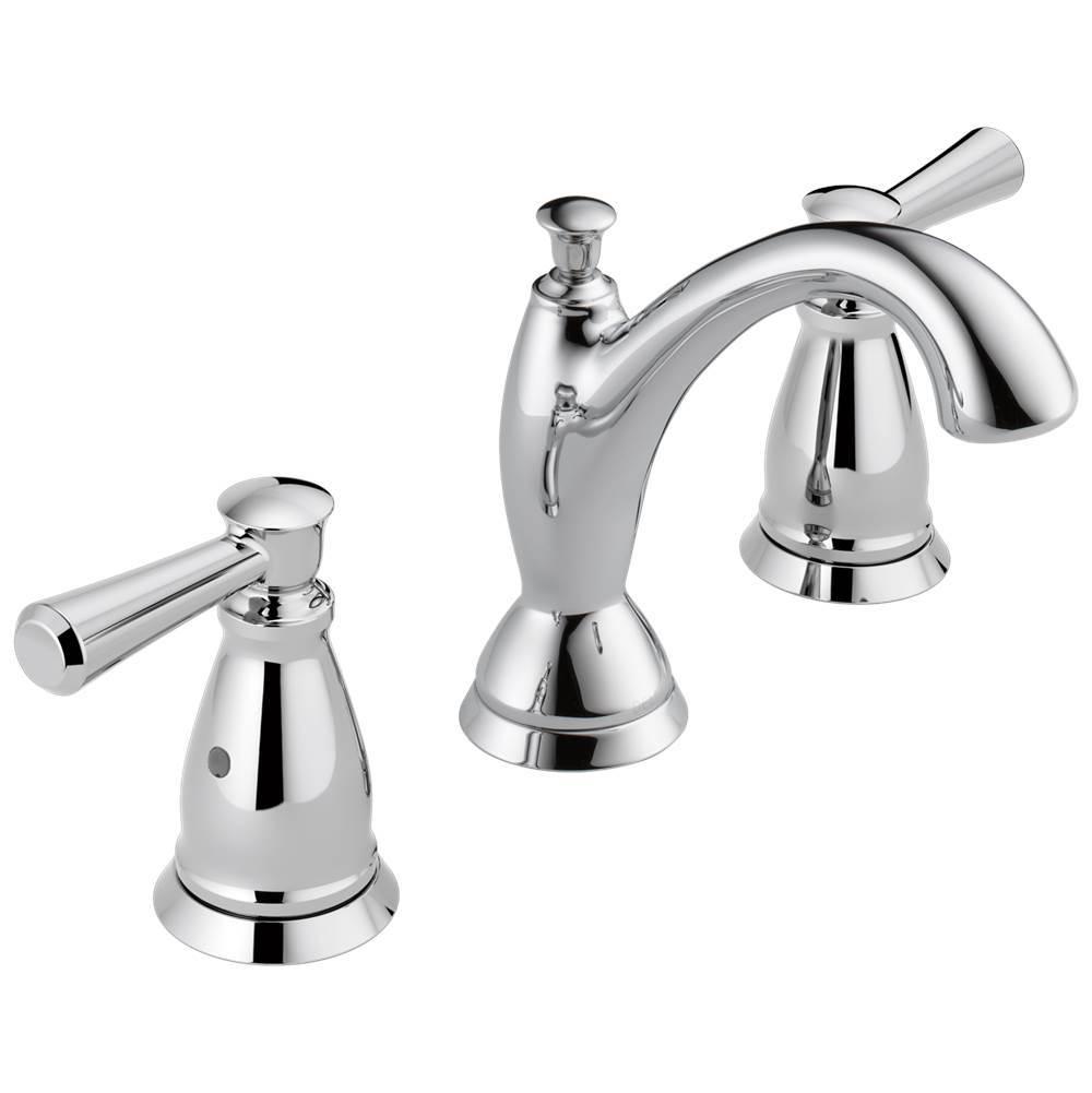 linden traditional two handle widespread bathroom faucet