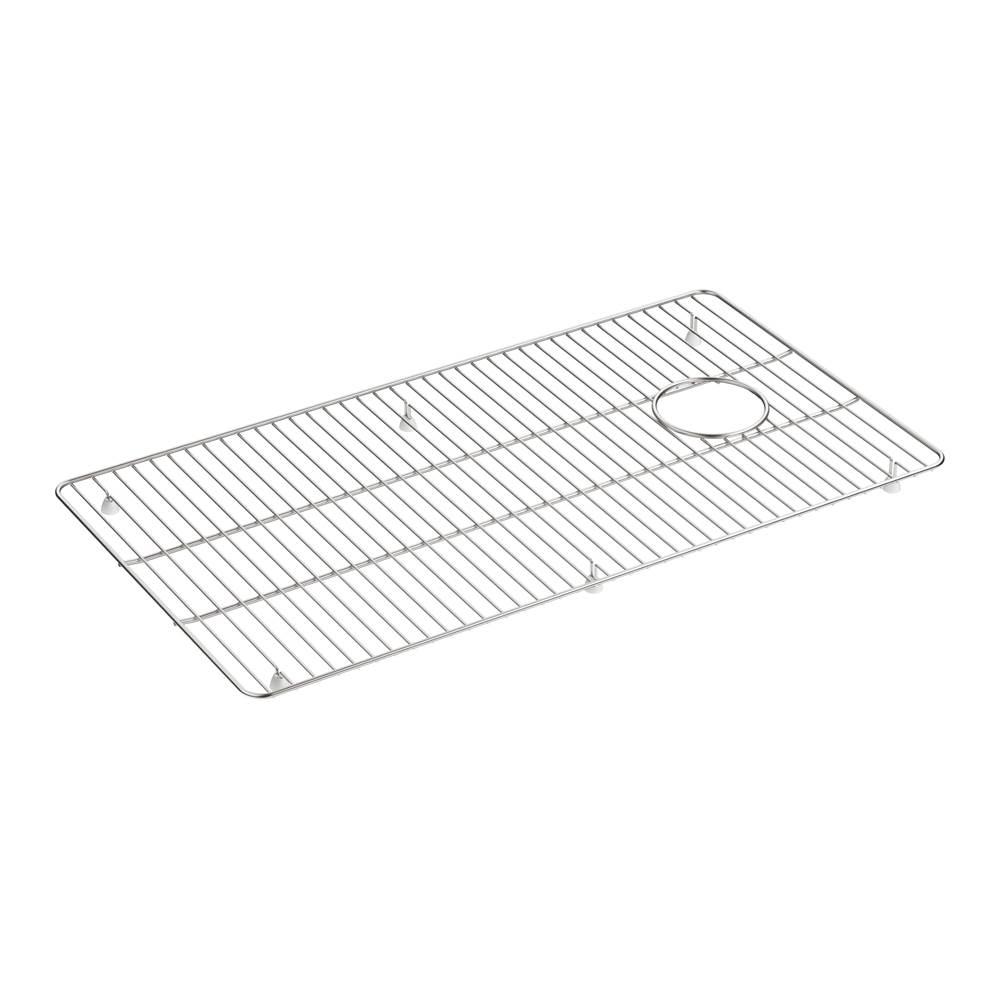kennon large stainless steel sink rack 17 3 4 x 15 9 16