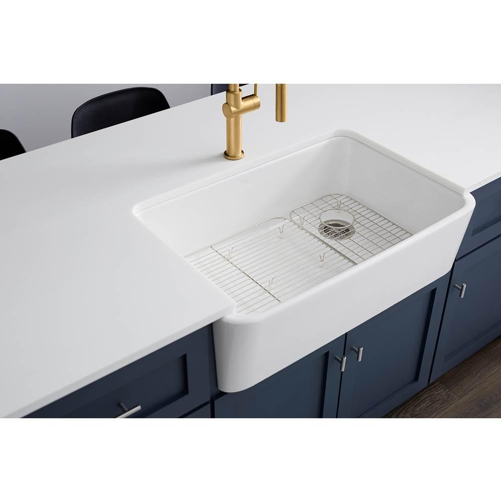 ironridge undermount single bowl farmhouse kitchen sink