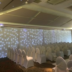 Chair Cover Hire Wigan Fruitwood Chiavari Chairs Wall Drapes Liverpool Cheshire Manchester