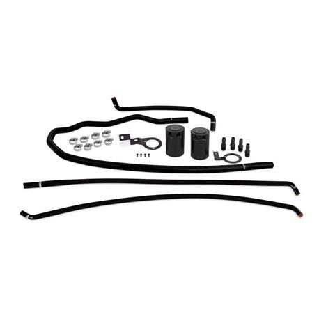Subaru WRX Baffled Oil Catch Can System, 2015-2016