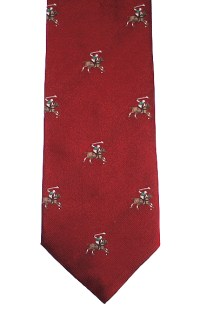 Polo Players Tie - Polo Neck Tie - Elegant Extras