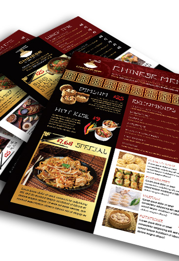 Chinese Restaurant Menu – Premium Flyer PSD Template – By