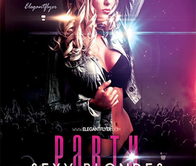 Minimal Party Free Flyer Psd Template