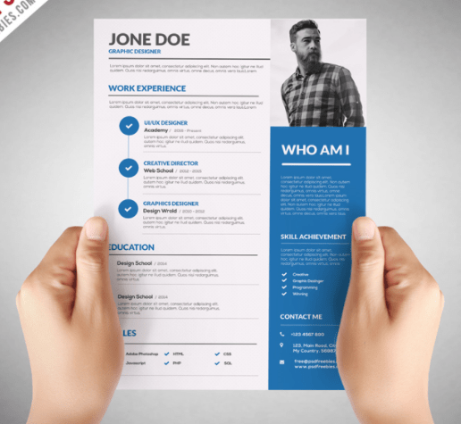 5 Resume Mistakes + 11 Free Professional CV Templates | by ElegantFlyer