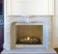Elegant Fireplace Mantel - The Chateaux Collection