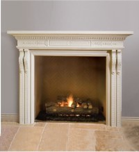 Elegant Fireplace Mantel - Herrington