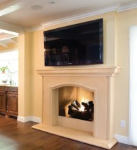 Elegant Fireplace Mantel - The Estate Collection