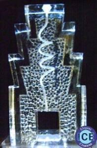 Spiral Ice Luge