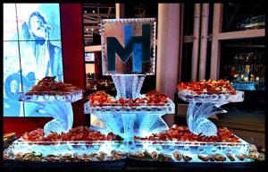 8' Seafood Ice table, Sprout Style