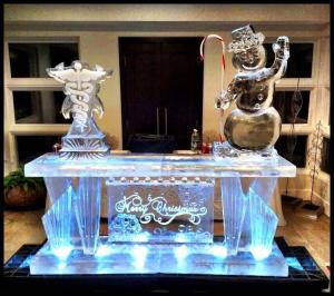 Merry Christmas Ice Bar