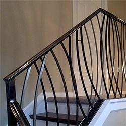 Elegant Iron Studios Custom Ornamental Metalwork Modern | Contemporary Wrought Iron Railings | Victorian | Stainless Steel | Glass | Wood | Decorative