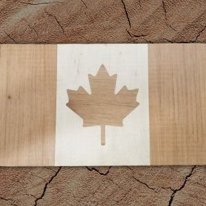 Canadian Flag Inlay