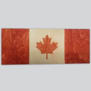 Custom Sign - Canadian Maple Leaf