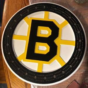 Boston Bruins - Crib Board