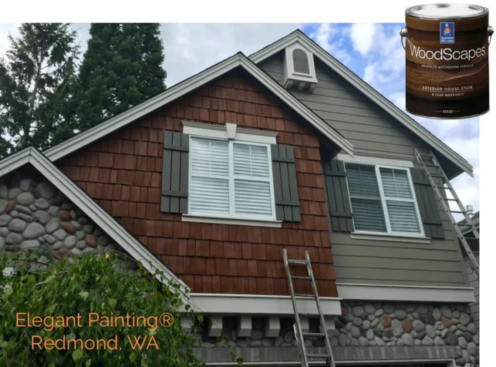 We Use Only The Best From Both Benjamin Moore And Sherwin Williams House Painting In Sammamish