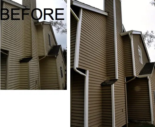 elegant painting before and after