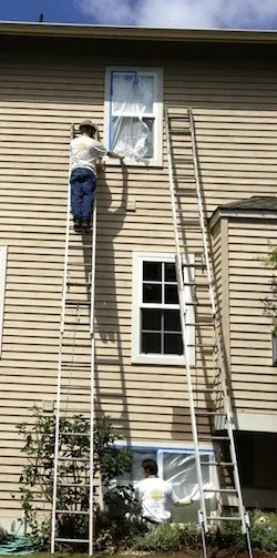 masking windows covering paint
