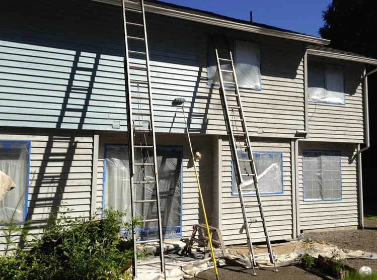buxton blue exterior siding