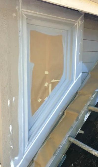 caulking wood windows highland park sammamish wa