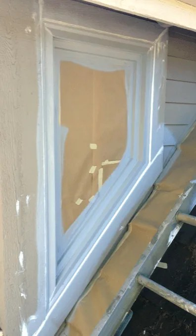 caulking wood windows highland park sammamish wa