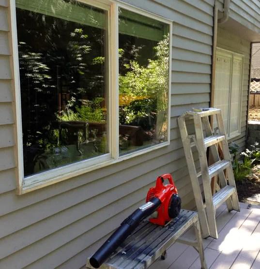 removing sanding dust sammamish painter