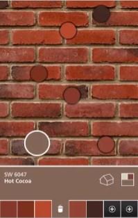exterior colors red brick