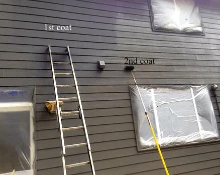 painting siding