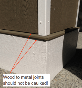 ulking metal flashing