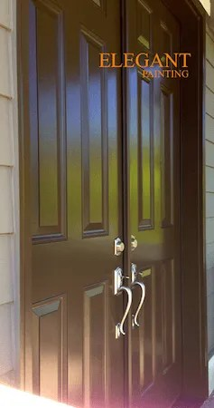 brown front doorFront door gallery  House Painting in Sammamish Bellevue Redmond