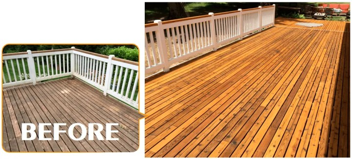 redmond deck staining contractors