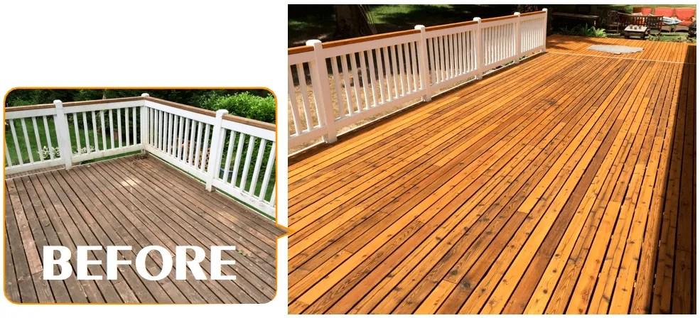 redmond deck staining contractors