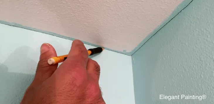 how to paint straight lines