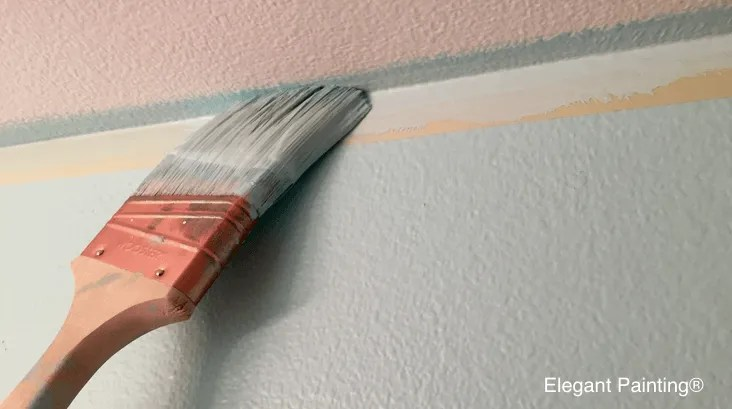 stop paint from seeping under tape