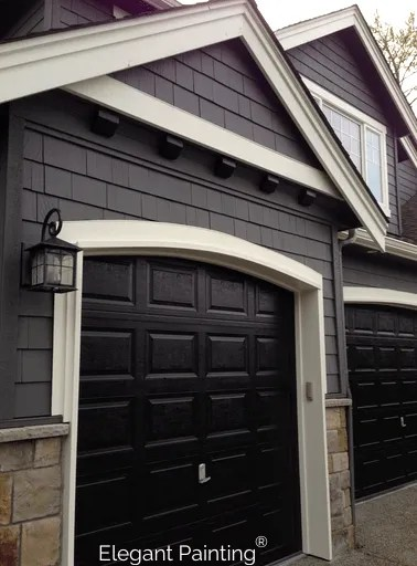 Painting Garage Doors Siding Trim Or Accent Color