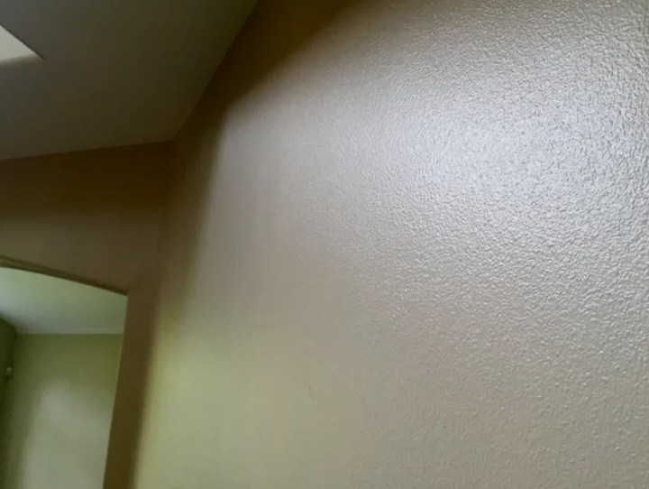 shiny wall paint eggshell