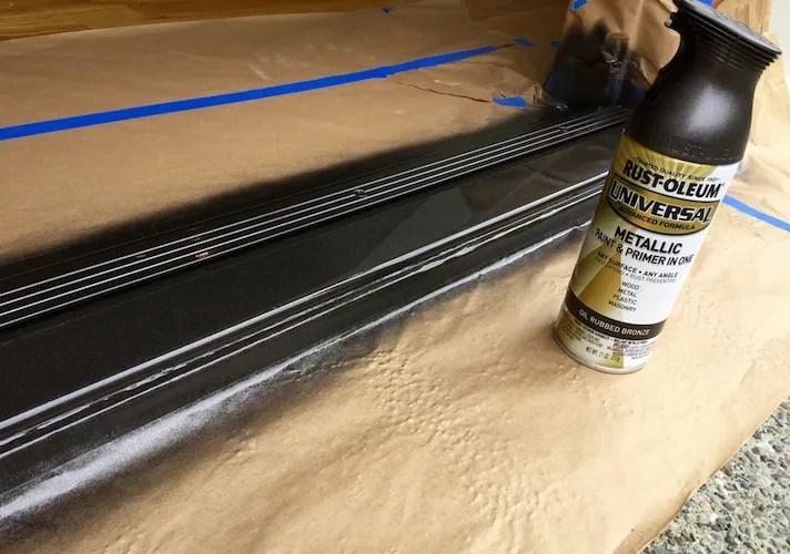 painting door sill