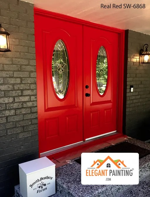 Sherwin Williams sw-6868 real red