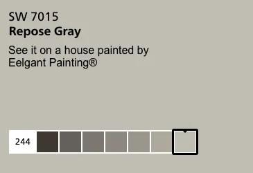 Repose Gray SW 7015