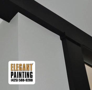 interior paint black beam