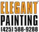 elegant painting logo