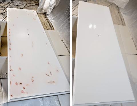 cabinet door painting