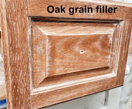 oak grain filler