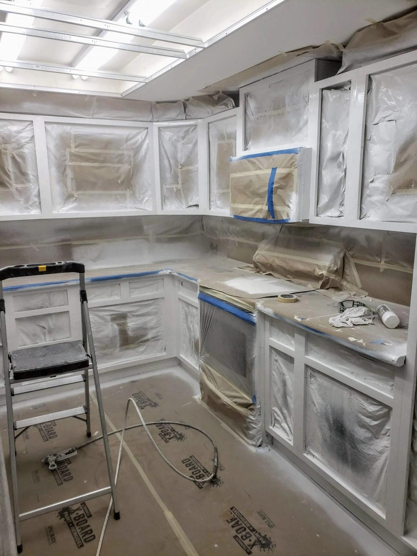 priming cabinets redmond