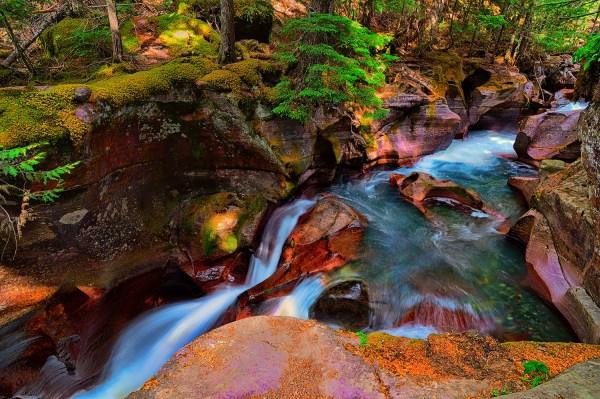 Glacier National Park Photography Art