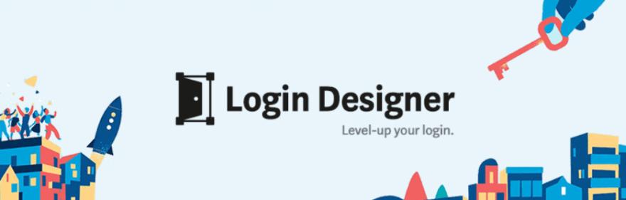 The Login Designer plugin.